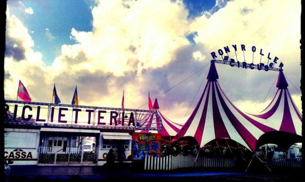 Dietro le quinte del circo: il Rony Roller a Centocelle