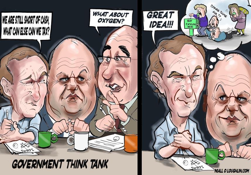 No all'austerity, il popolo dell'acqua in Irlanda