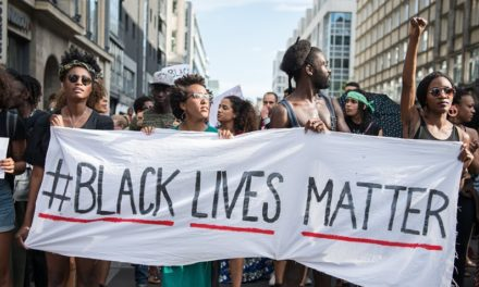 Black lives matter Paris
