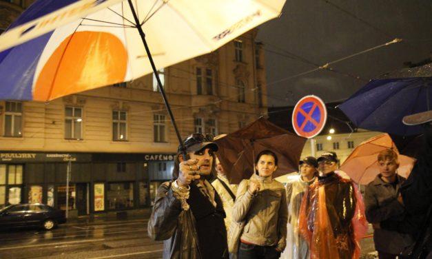 A Praga con i senza tetto